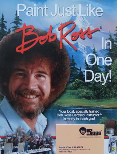 'The Joy of Painting' Bob Ross, BBC 4 every weekday other than Friday, from 7.30pm